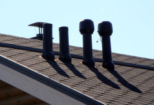 вентиляционные выходы на крышу