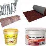 Материалы для гибкой кровли