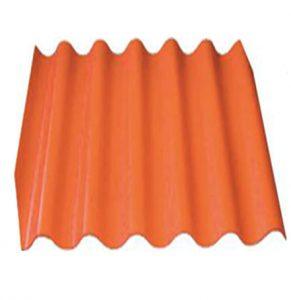 Шифер 6-ми волновой оранжевый