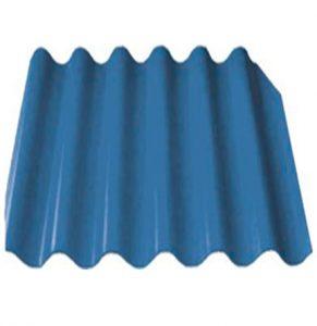 Шифер 6-ти волновой синий